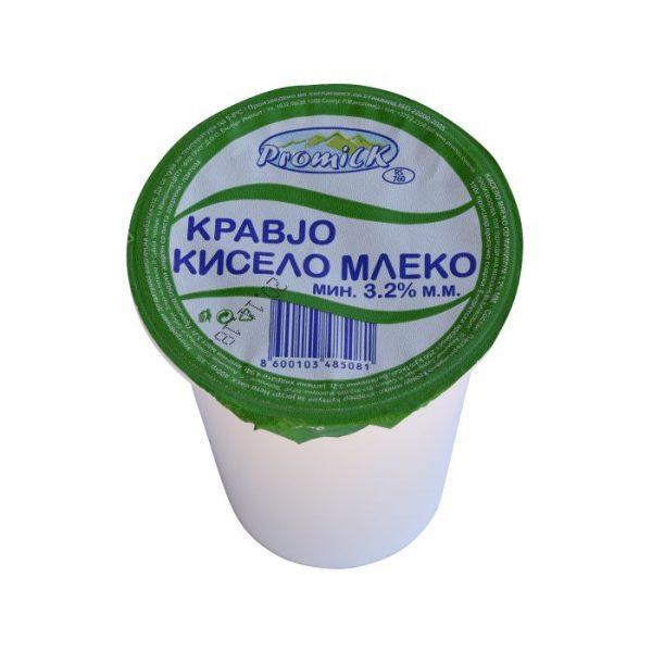 Sour milk 400g with 3.2% milk fat